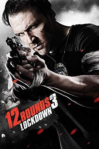 Wayne Dove 12 Rounds 3 Lockdown Movie Póster en Seda/Estampados de Seda/Papel Pintado/Decoración de Pared F13421425