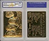 BEATLES FOR SALE Album Cover 23KT Gold Card Sculpted Limited Graded GEM MINT 10