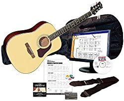 Best Toys for 13 Year Old Boys-Silvertone SD3000 Acoustic Guitar