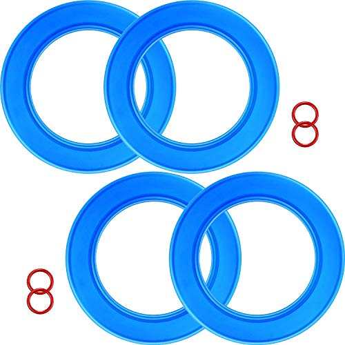 4 Packs 7301111-0070A Flush Valve Seal Kit for American Standard Toilets, Replacement Parts for Champion 4 Tank and Eljer Titan 4 Model toilets, Replace for 012611410444