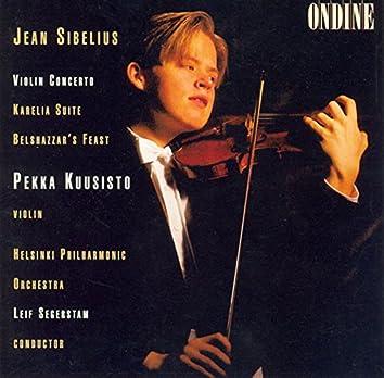 Sibelius: Violin Concerto in D Minor, Karelia Suite & Belshazzar's Feast