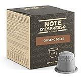 Note d'Espresso - Ginseng Dolce - Cápsulas compatibles con Cafeteras NESPRESSO - 40 caps