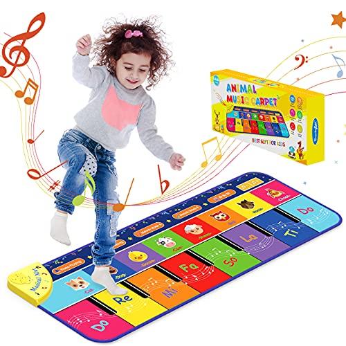 Let's Arezooo Juguetes Bebes 1 Año,Piano Infantil Regalo Niña 2 3 4 5 Años Juegos Educativos Niños 2 Años Alfombra Infantil Juguetes Niños 2 3 4 5 Años Instrumentos Musicales Infantiles