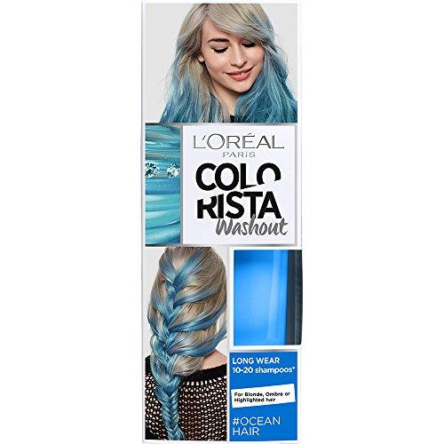 L'Oreal Paris Colorista Coloración Temporal Tono Washout Ocean Hair - 116 gr