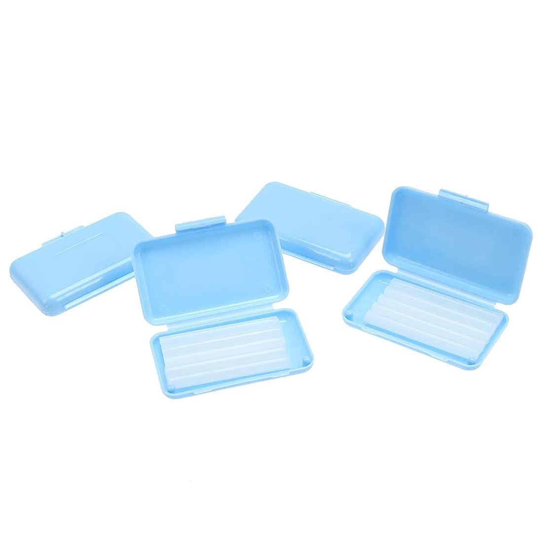 見捨てる階下バルクSUPVOX 20個 歯科 ワックス 矯正ワックス 口腔ケア 歯科ブレース 着用者 スカイブルー