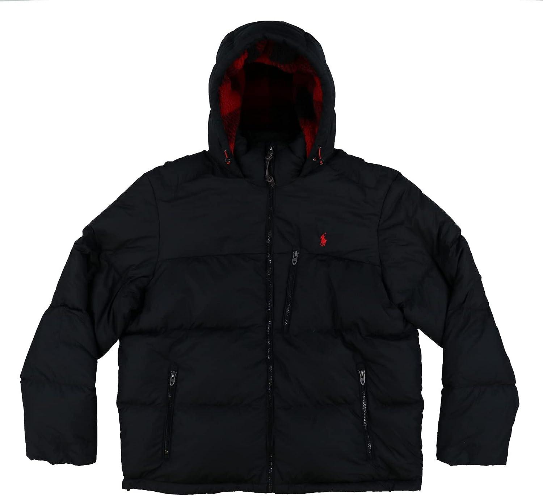 Polo Ralph Lauren Mens Full Zip Hooded Puffer Jacket