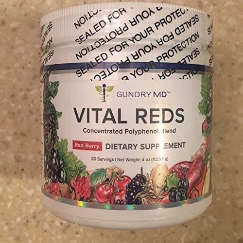 Gundry MD Vital Reds Concentrated Polyphenol Blend...