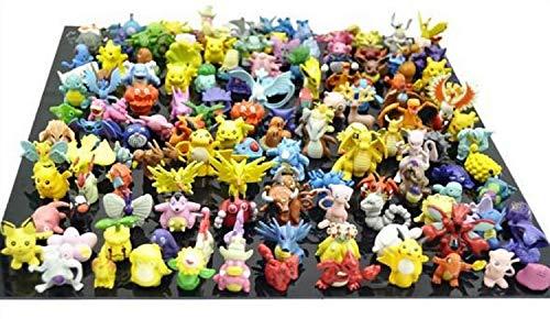 Poke 24 Stück Pokemonfiguren