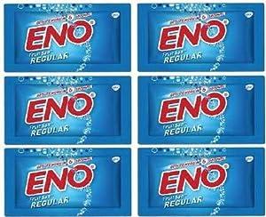 Eno Fruit Salt Regular 6 Sachets / 5 Gram Each