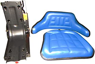 Universal Fit Blue Tractor Seat for Ford 2000 3000 4000 5000 7000 Hesston More