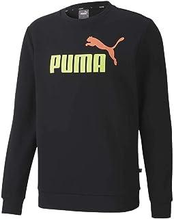 PUMA Ess 2 col Crew Sweat FL Big Logo, Felpa Uomo