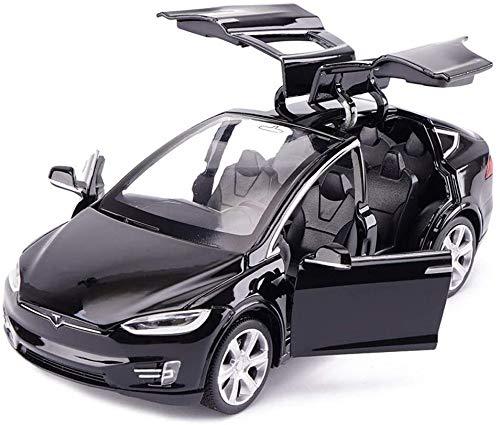 Ycco 2,4 GHz RC Tesla Wiederaufladbare Fahrzeugkinder Elektronische Rennen Modell Radio Controlled Elektro-Spielzeug-Auto-drahtloser Fernsteuerungs Racing Drift Open Door Spielzeug for Kinder Mädchen