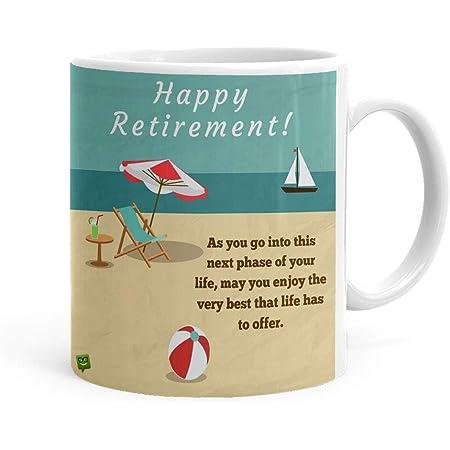 Khakee Ceramic Tea And Coffee Mug - 1 Piece, White, 325 ml