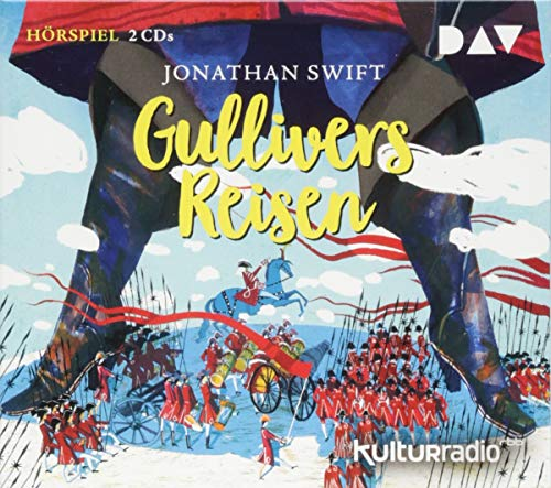 Gullivers Reisen: Hörspiel mit Friedhelm Ptok, Joachim Nottke u.v.a. (2 CDs)