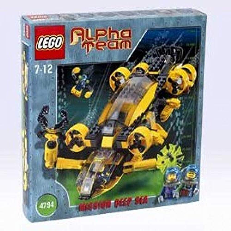 LEGO Alpha squadra  Mission Deep Sea 4794 AT Comuomod Patrol
