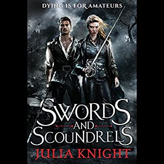 Swords and Scoundrels audiobook cover art