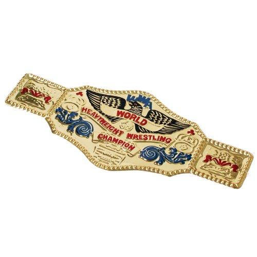 22.5' x 10' World Wrestling Wrestler Championship Gold Belt