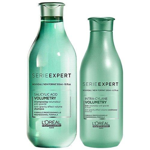 L'Oréal Professionnel Serie Expert Volumetry Shampoo zu 300 ml und Conditioner zu 200 ml im Doppelpack