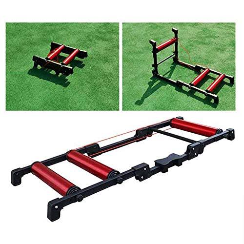 Tanceq Fietstrainer, inklapbaar, voor training binnenshuis, fiets en MTB