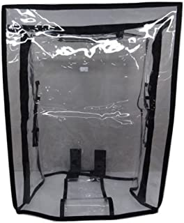 Handcuffs 26-inch PVC Waterproof Transparent Luggage Trolley Protective Cover