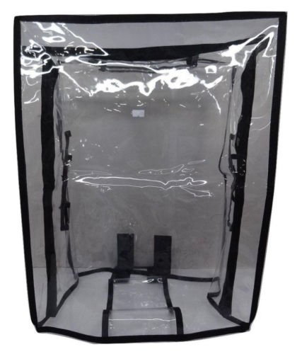 Handcuffs Transparent Luggage Trolley Protective Covers PVC Waterproof Travel Bag Suitcase Cover