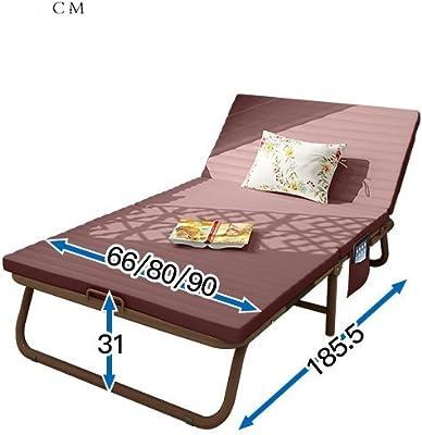 JKAPWQOILUXHWTX Cama Plegable/Individual,Oficina,Reposo en Cama/hamacas/Siesta Doble