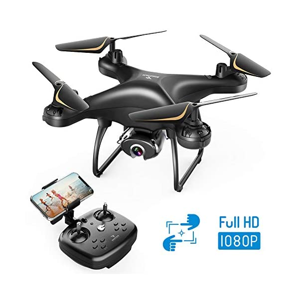 SNAPTAIN SP650 1080P Drone with Camera for Adults 1080P HD Live Video Camera Drone...
