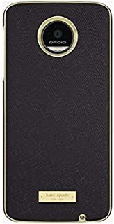 Kate Spade New York Wrap Case for Moto Z Force Droid - Saffiano Black