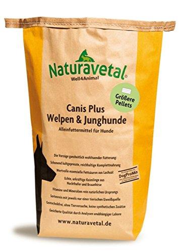 Naturavetal 15 kg Canis Plus Welpen - Größere Pellets-