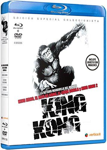 King Kong - Edición Especial Coleccionista (Incluye Libreto) [Blu-Ray] [Blu-R
