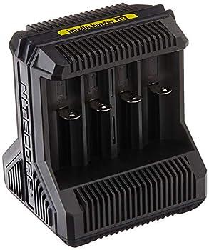 Nitecore I8 Chargeur de Batterie Mixte Adulte, Noir