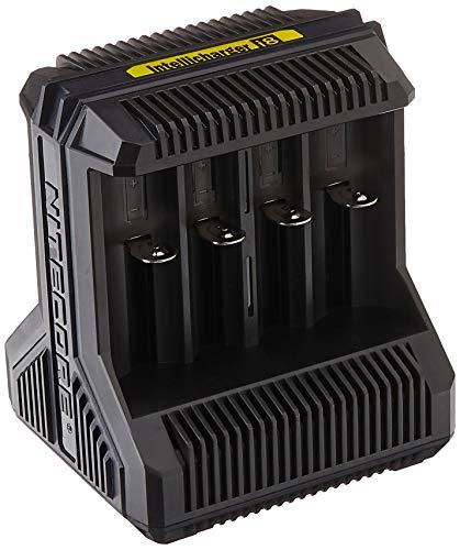 Nitecore i8-8-Schacht-Ladegerät für Li-Ion, NiMH und NiCd Akkus, schwarz, S