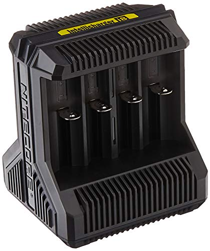 Nitecore I8-8-schacht-ladegerät für Li-Ion, Nimh und Nicd Akkus i8-8-Cargador para baterías Litio, Negro, Small