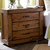 Progressive Furniture Maverick Nightstand, Driftwood