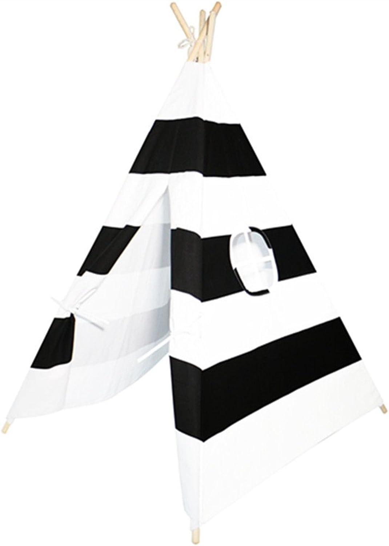 HONEYY Kinder Zelte Zelte Zelte Streifen Spielzeug Haus tragbare Baby Spiel Gehäuse B074Y82MPC  Elegantes Aussehen 111228