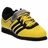 Adidas Hombre Powerlift Trainer 2 Zapatos de Pesas - Amarillo/Negro (6)