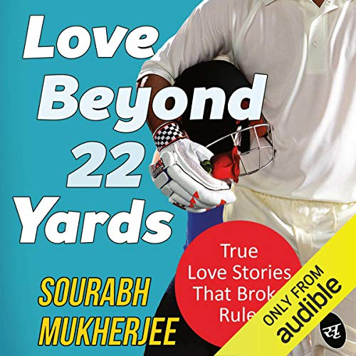 Love Beyond 22 Yards audiobook cover art