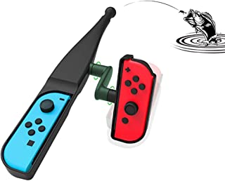 Switch Joy-con用 釣りロッド 釣り竿 釣竿 体感 コントロール ジョイコン専用 釣り ゲーム スピリッツ対応 釣りスタ