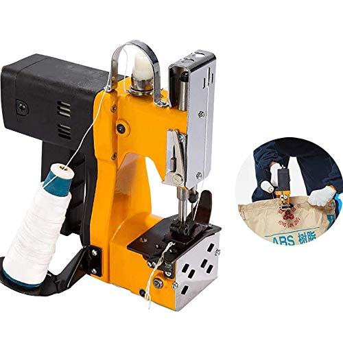 MXBAOHENG Tragbare Nähmaschine Näherer Stitcher Elektrische Verpackung Tasche Nähen Abdichtung für Gewebte Schlangenleder-Sack Reispapier Plastiktüte 220V