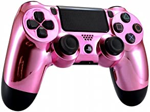 Chrome Pink Playstation 4 PS4 Dual Shock 4 Wireless Custom Controller