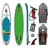 Red Paddle Co 12'6 x 32' EXPLORER (MSL Series) Includes Bundle. Backpack - Titan Pump - Detachable Flex Fin - Earth River SUP Pressure Gauge
