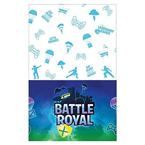 Amscan International 572412 papier 1 tafelkleed Battle Royal