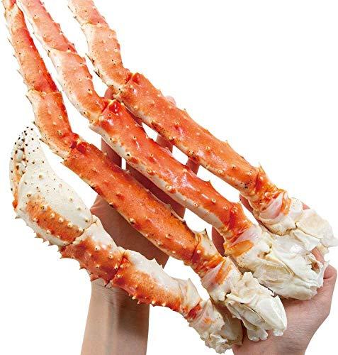 さっぽろ朝市 高水 タラバガニ 特大 合計2Kg (1kg × 2肩) 天然 たらば蟹 脚