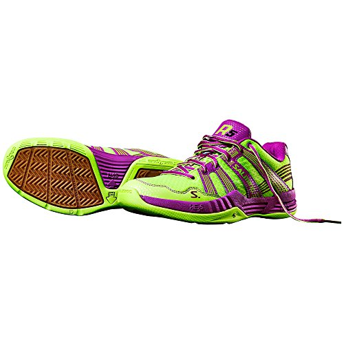 Salming Chaussures Salming Race R5 jaune/violet
