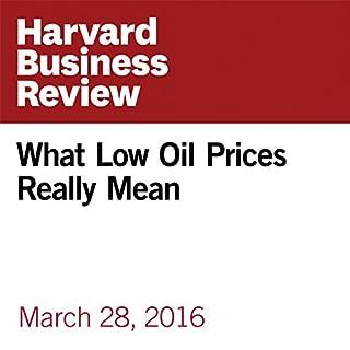 What Low Oil Prices Really Mean                   著者:                                                                                                                                 Bernhard Hartmann,                                                                                        Saji Sam                               ナレーター:                                                                                                                                 Fleet Cooper                      再生時間: 11 分     レビューはまだありません。     総合評価 0.0
