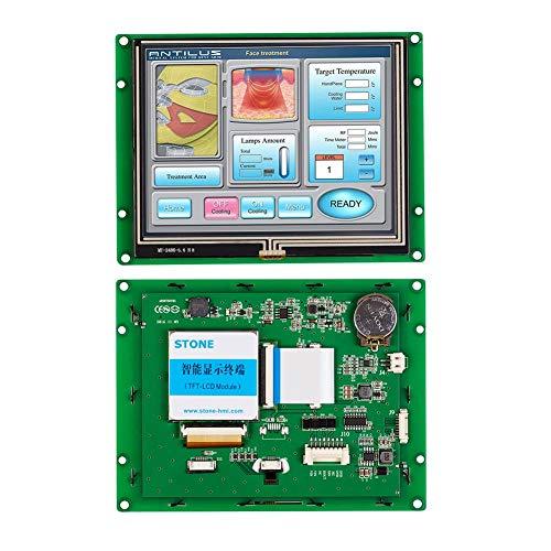 Módulo de pantalla táctil TFT LCD táctil industrial inteligente de 12,1 pulgadas IHM con tarjeta controlador para interfaz serie de control.