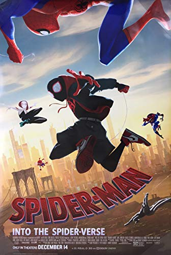 SPIDER-MAN INTO THE SPIDER-VERSE MOVIE POSTER 1 Sided ORIGINAL MINI SHEET Version B 11x17
