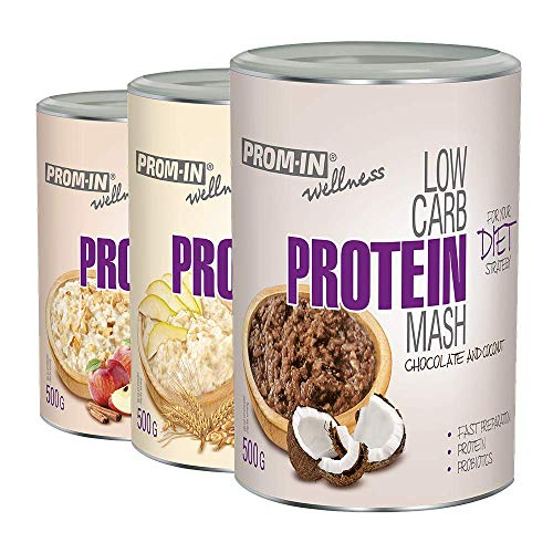 PROM-IN Wellness Low Carb Protein Mash Rich in Protein (Pear, 50 g)