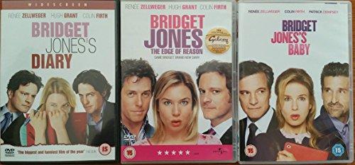 BRIDGET JONES 1-3 collection anthology BRIDGET JONES'S DIARY + THE EDGE OF REASON + BRIDGET JONES'S BABY
