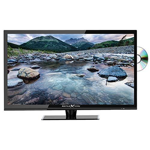 Reflexion LDDW160 - Televisor LED 5 en 1 de 40 cm (15,6'), reproductor de DVD, DVB-S/S2/C/T/T2, H.265/HEVC, Full HD